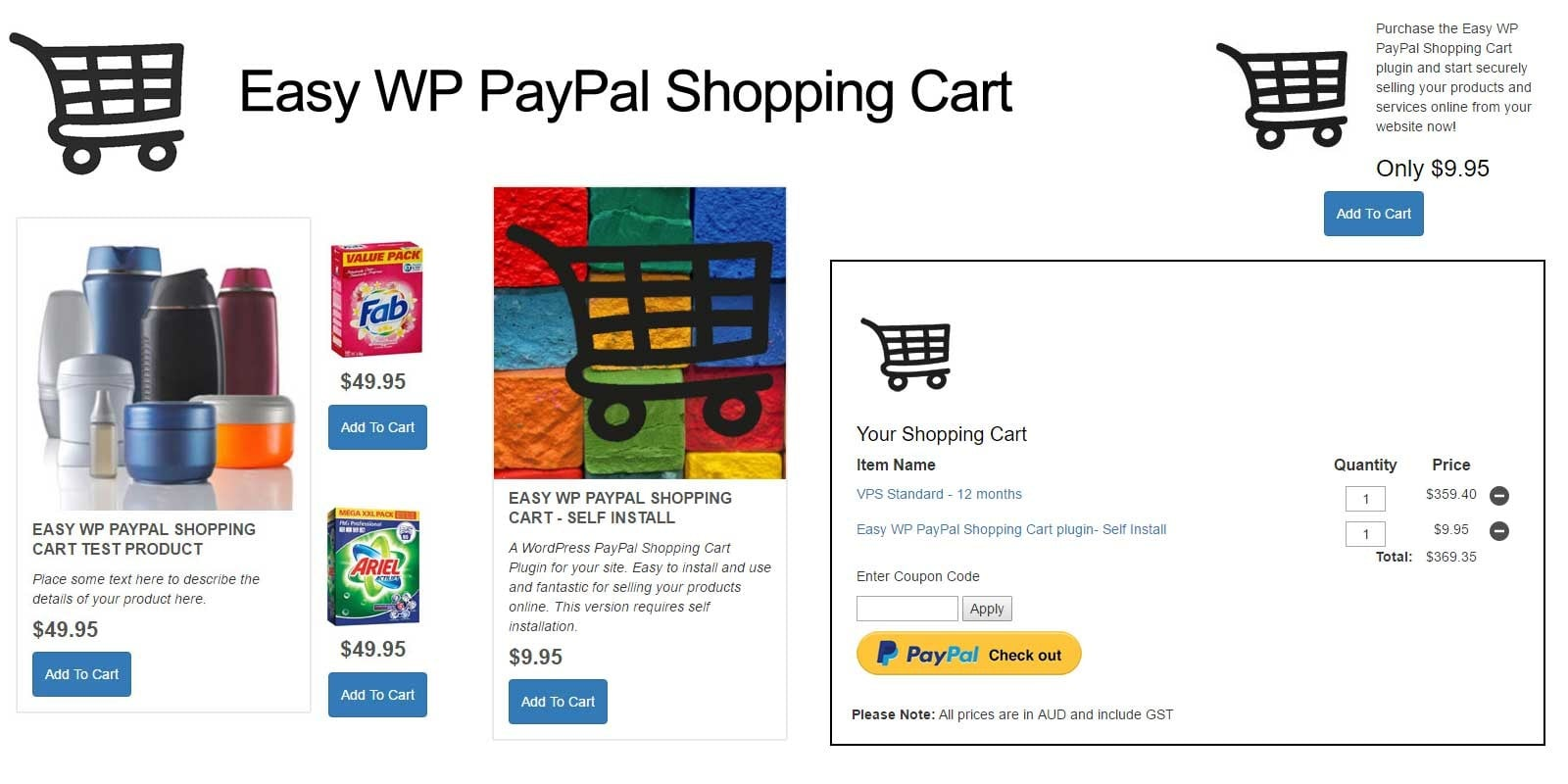 Shopping cart software is the best option among other ecommerce website technology if you already have a website and want to add a product catalog and process payments
