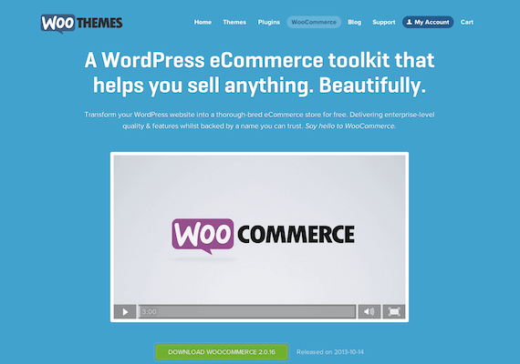 Integrate eCommerce into your existing site using plug-ins