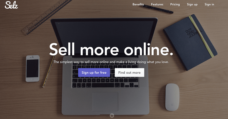 Selz has some of the most effective tools for online retail without bells and whistles