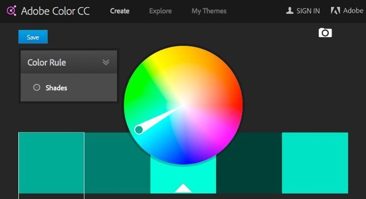 Useful apps make your life easier. For instance, with Adobe Color CC.