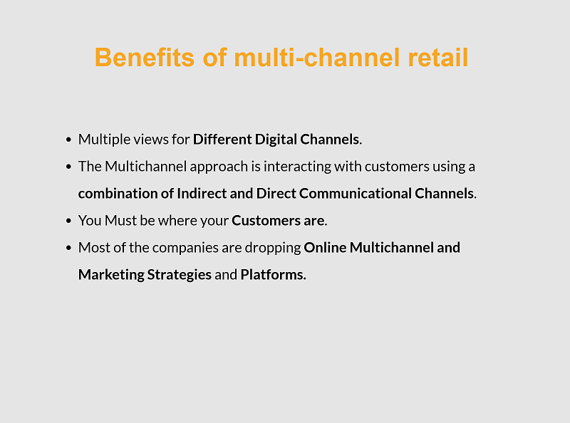 Let's get into the details of some ecommerce platforms for multi channel solutions, and bring you even more sales