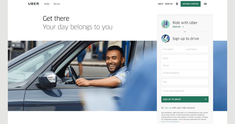 Изначально Uber работал только на территории Сан Франциско