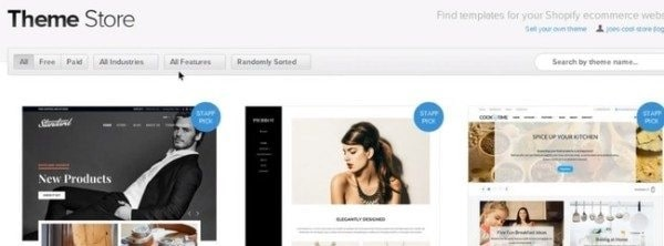 Customizing Your Shopify Online Store theme store