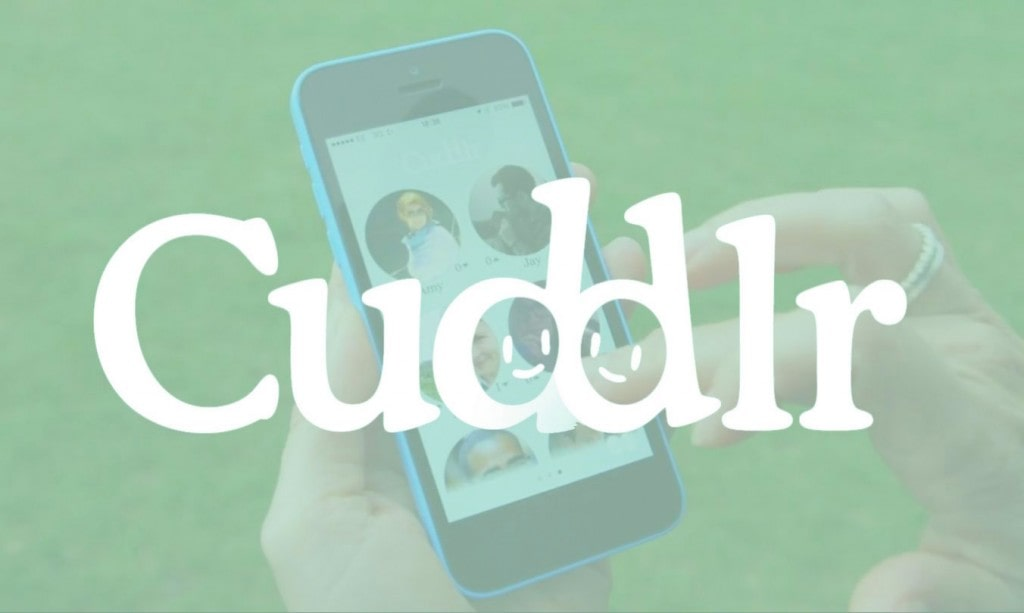 At first glance, Cuddlr is just another dating app, like the ones millions of people download every year.