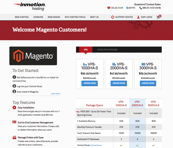 magento vs woocommerce: Another factor that adds cost is a web hosting cost