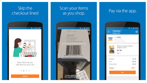 Walmart, the king of offline retail, also gives shoppers a convenient online shopping experience with ecommerce mobile app features