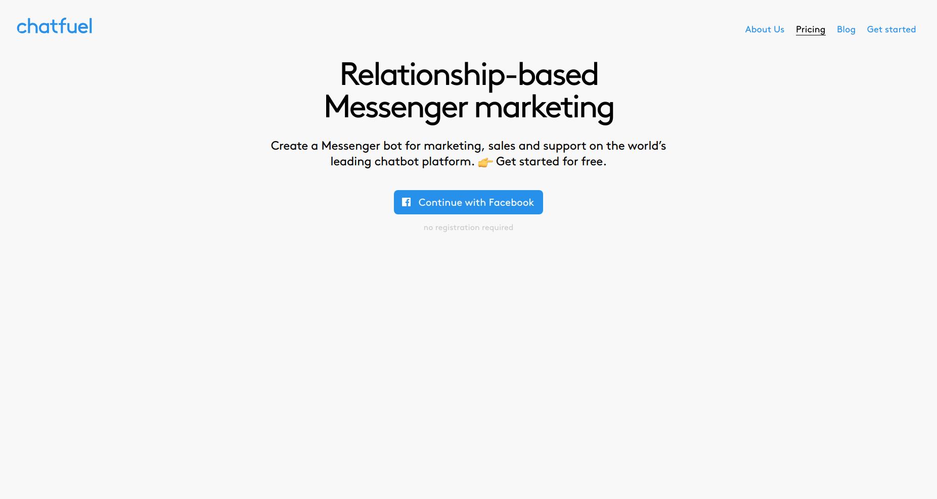 Chatfuel  Сейчас на этой платформе созданы более 300,000 чат-ботов для Facebook Messenger.