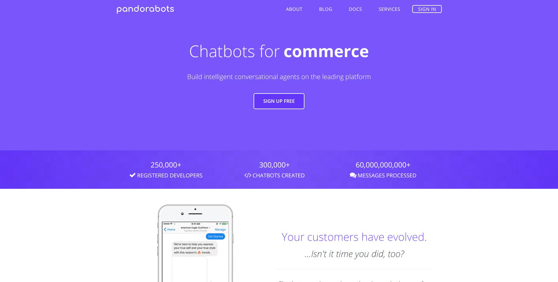 Pandorabots  Это самая распространенная и старая платформа для создания чат-ботов.
