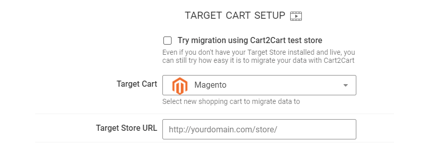 how to migrate opencart to magento - Bridge to the root directory in your store