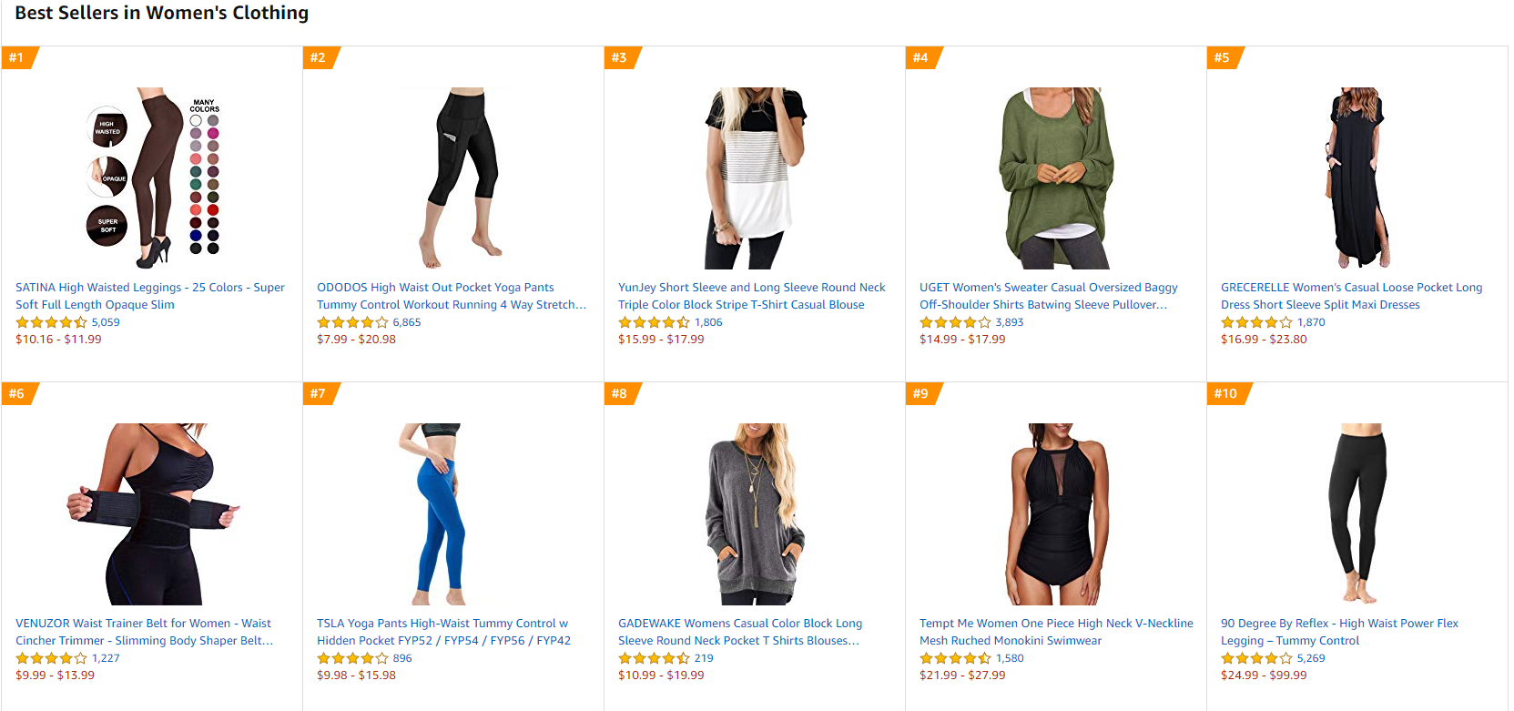 opening a clothing store online - When looking for a niche, you can visit Amazon's Quirky & Unique section to see anything that stands out.