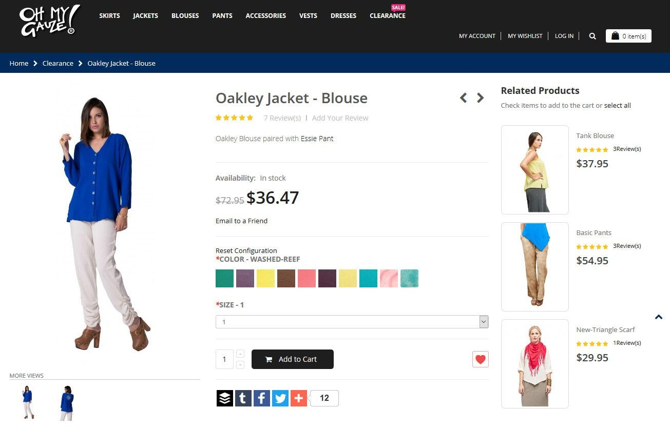 create online clothing store - Magento is an advanced open source e-commerce platform that suits small and enterprise-sized businesses