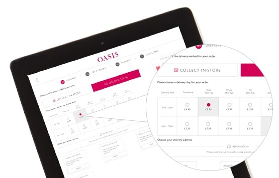 create online clothing store - Oasis, a U.K. fashion retailer, uses e-commerce site, mobile app, and brick-and-mortar stores as one sale funnel and provides customers with a straightforward shopping experience