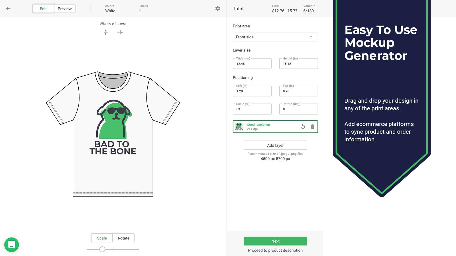 how to start an online clothing store - An example of an online apparel store that operates this business model is Printify