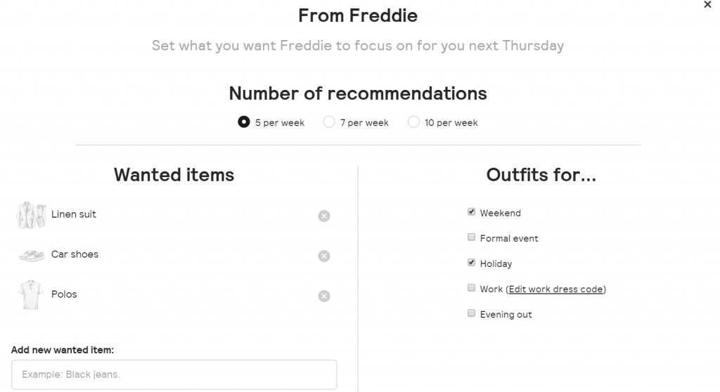 starting an online clothing business - One of the fashion brands currently using AI technology is Thread
