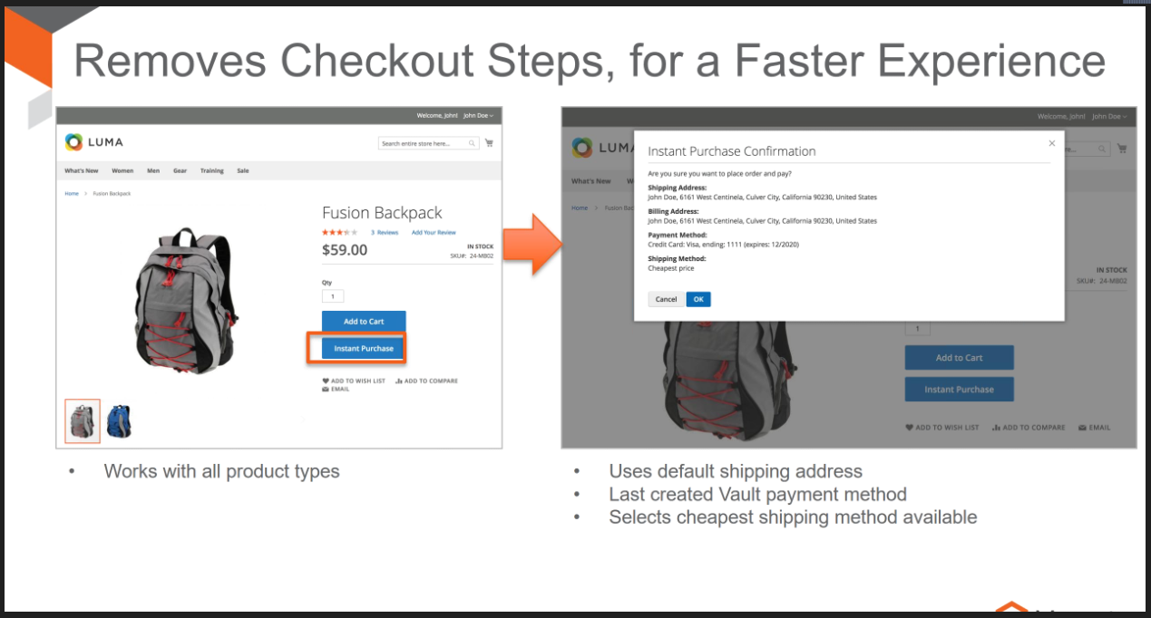 migrate data from magento 1 to magento 2 - Modern online shoppers want to have short checkout process