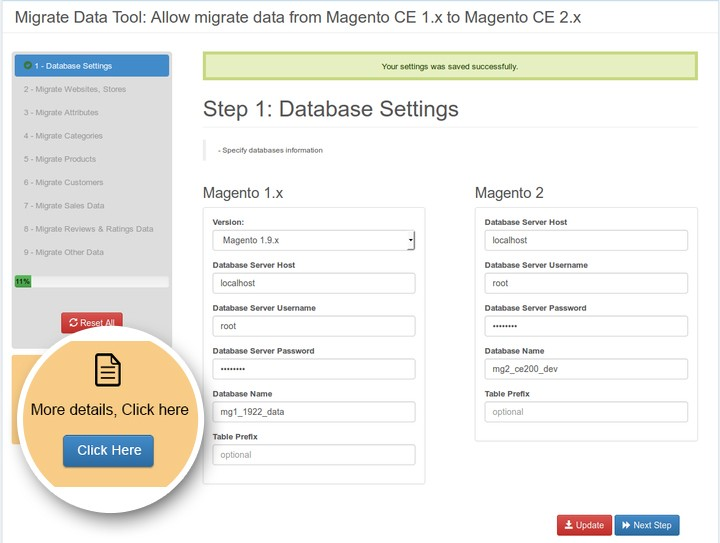 migrate customers from magento 1 to magento 2 - The final step is to transfer your entire website's data and adjust it to a new structure of Magento 2.