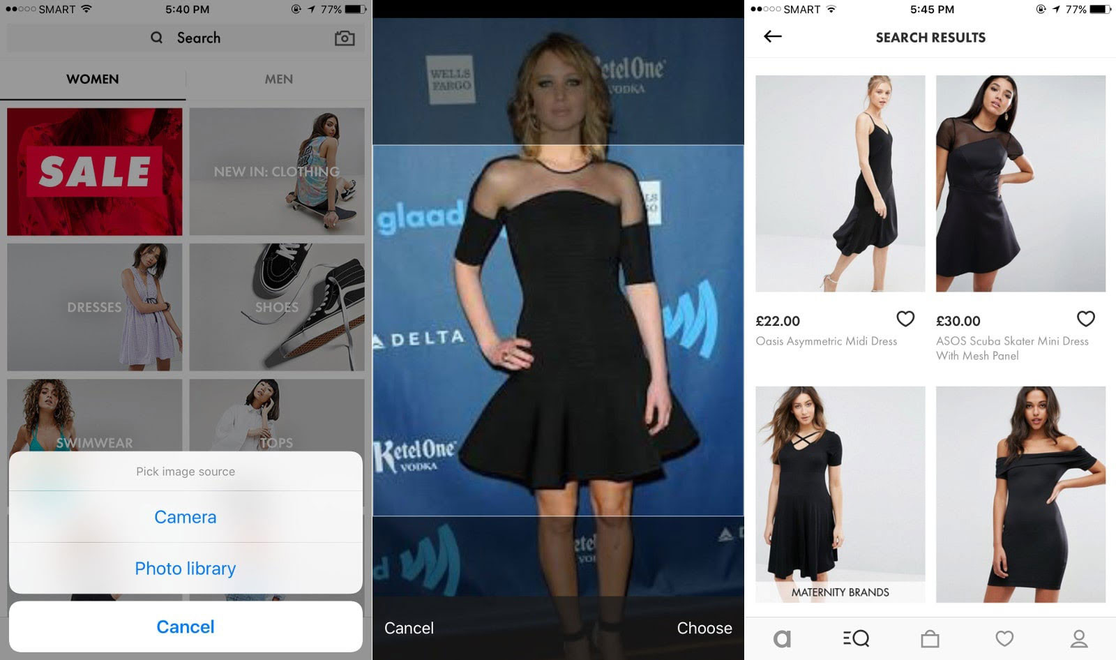 how to start a business online for clothing- ASOS
