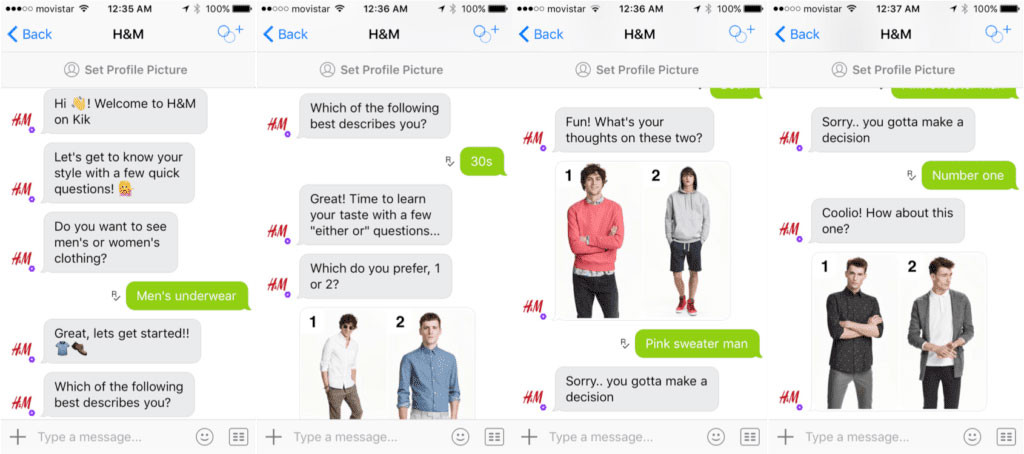 how to start a business online for clothing H&M