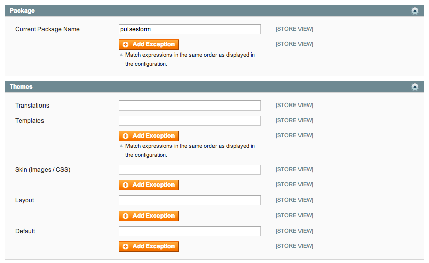 Magento already has a large number of templates available