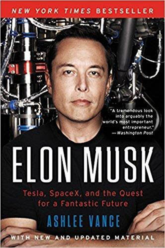 Best e-commerce books for inspiration Elon Musk: Tesla, SpaceX, and the Quest for a Fantastic Future