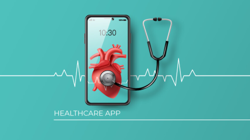 The primary healthcare app features