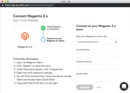 How to Integrate Magento 2 with Unific