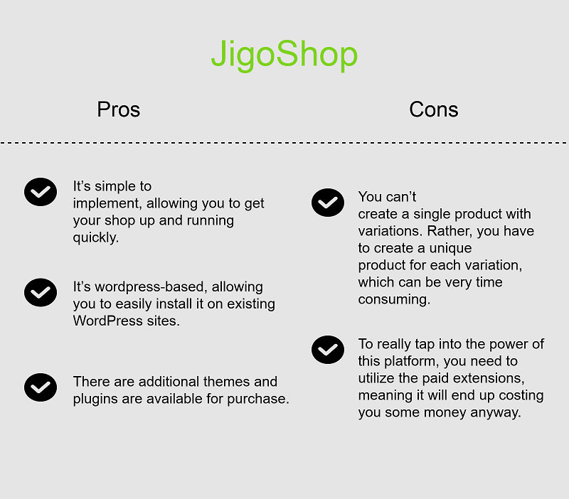 JigoShop is one more option for WordPress fans