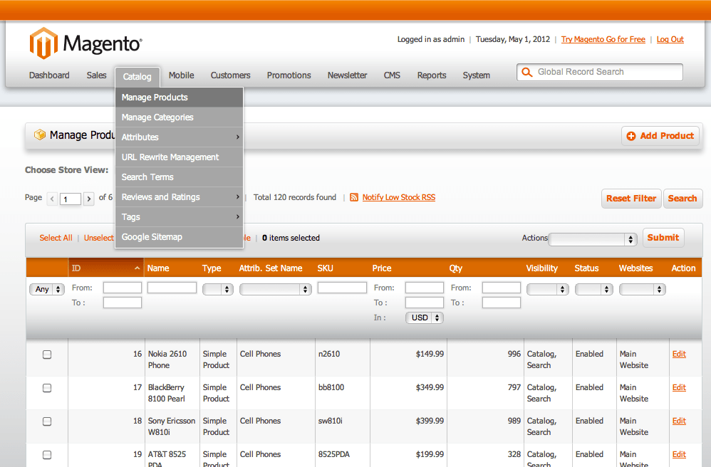 Magento also provides retailers with an extended plug-in architecture