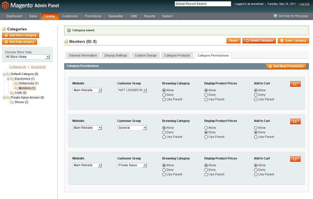 Magento Enterprise Edition which costs about $16,000 per year
