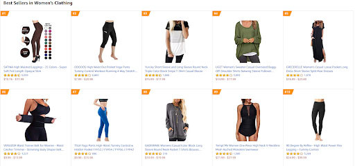 how to start an online clothing store - Amazon