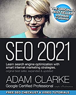 Best books for e-commerce analytics SEO 2021: Learn search engine optimization with smart internet marketing strategies