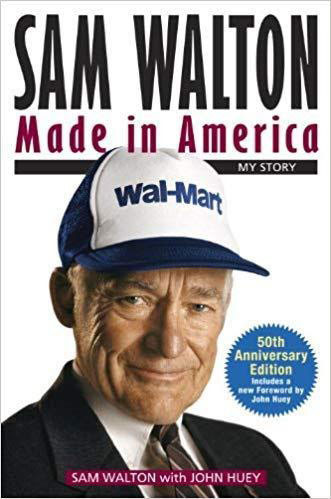 Best e-commerce books for inspiration Sam Walton: Made In America