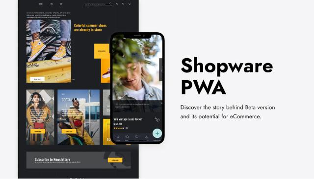 Shopware PWA приложение