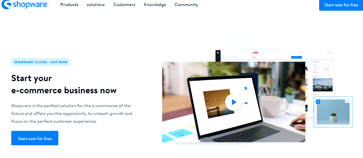 Shopware SaaS инновации