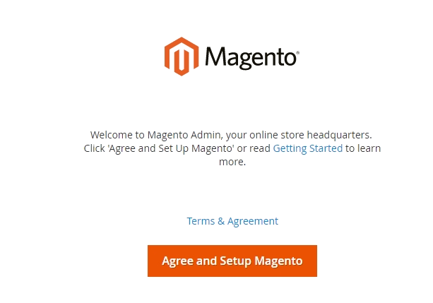 easy Magento setup ecommerce website