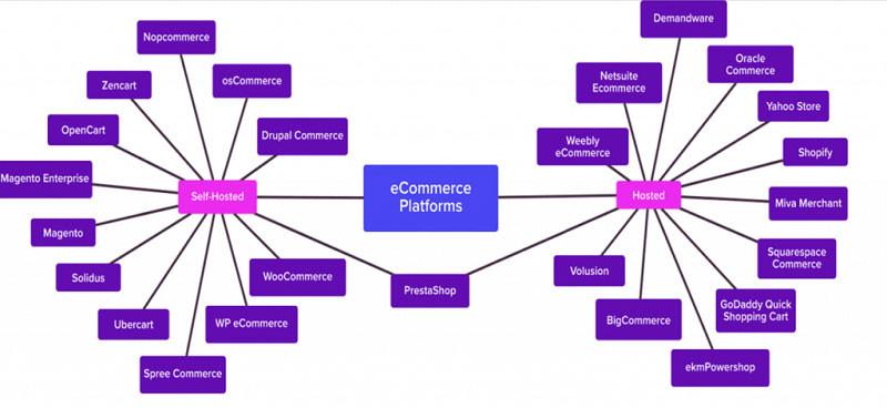 Основная разница между конструкторами сайтов и платформами с открытым исходным кодом