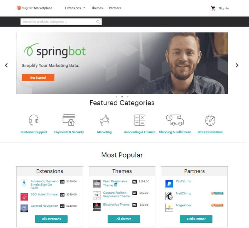 multi-vendor platform should have at least some basic marketplace features