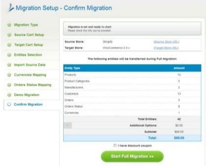 Finalization for Migrating from Shopify to WooCommerce