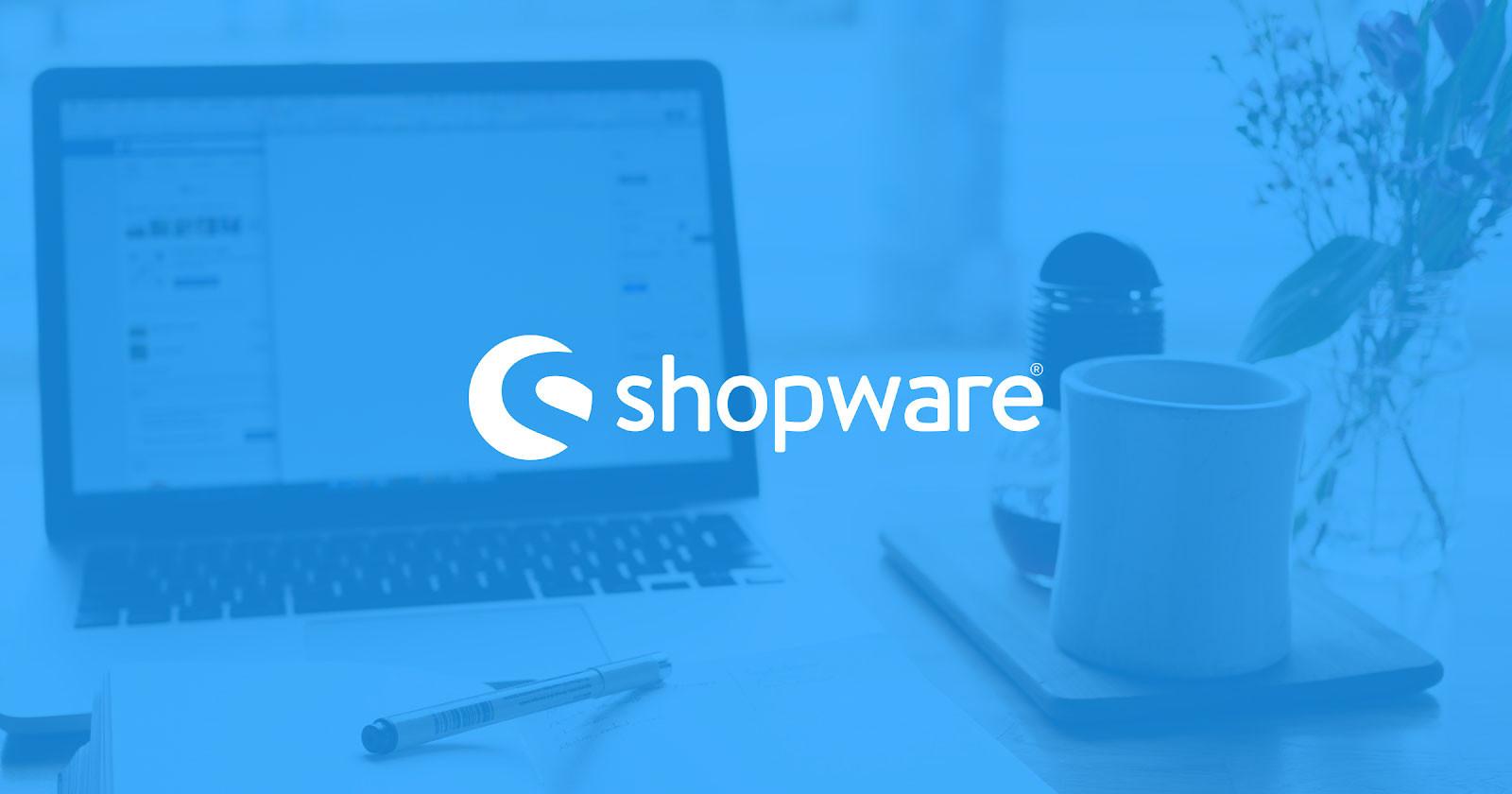 Shopware open source ecommerce platform 2021