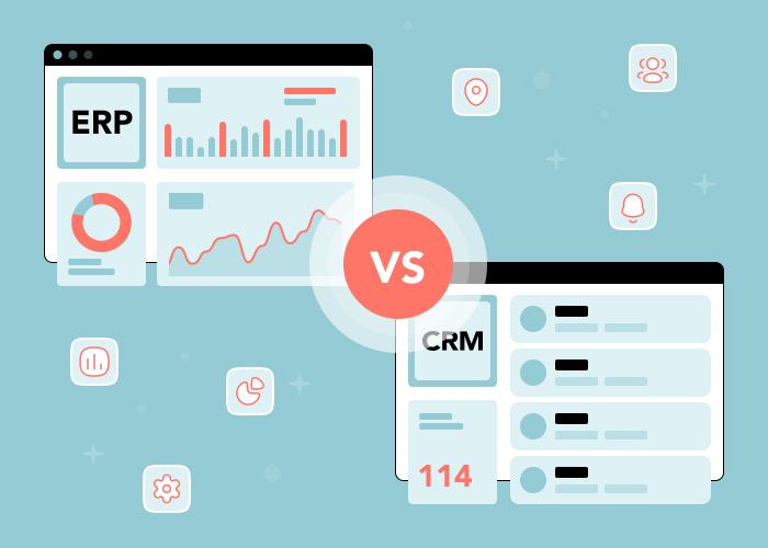 ERP vs CRM: в чем разница между ERP и CRM?
